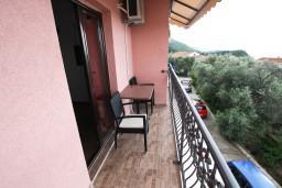 Балкон. Будванская ривьера, Черногория, Каменово : Студия 24м2 с балконом с видом на море