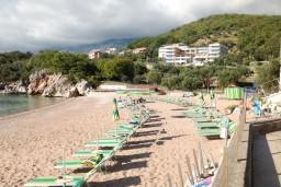 Пляж отеля Маэстраль / Maestral Hotel Przno в Пржно