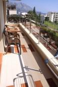 Вид на море. Бечичи, Черногория, Бечичи : Апартамент с отдельной спальней, с балконом и видом на море