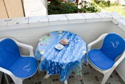 Балкон. Бечичи, Черногория, Бечичи : Уютная студия в 300 метрах от моря