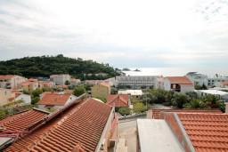 Вид на море. Будванская ривьера, Черногория, Петровац : Апартамент с отдельной спальней, с видом на море