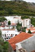 Будванская ривьера, Черногория, Рафаиловичи : Комната для 2 человек, с двухспальной кроватью, с кондиционером, 50 метров до пляжа