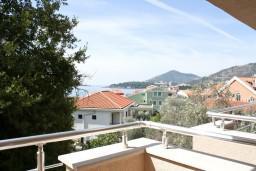 Вид на море. Рафаиловичи, Черногория, Рафаиловичи : Апартамент с отдельной спальней, с балконом с видом на море