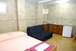 Студия (гостиная+кухня). Бечичи, Черногория, Бечичи : Студия на вилле с бассейном в 300 метрах от моря
