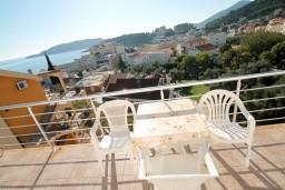 Балкон. Бечичи, Черногория, Бечичи : Студия с балконом с видом на море