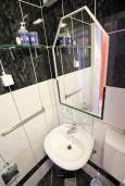 Ванная комната. Бечичи, Черногория, Бечичи : Студия для 2-3 человек