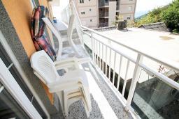 Балкон. Бечичи, Черногория, Бечичи : Уютная студия в Бечичи с балконом