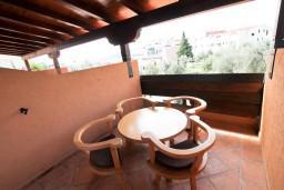Терраса. Бечичи, Черногория, Бечичи : Уютная студия для 2-3 человек