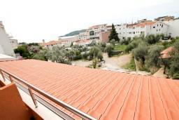 Вид. Будванская ривьера, Черногория, Бечичи : Уютная студия для 2 человек, с балконом с видом на море