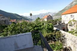 Вид. Боко-Которская бухта, Черногория, Столив : Апартамент с отдельной спальней, с балконом с видом на залив, 20 метров до моря