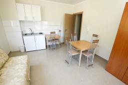 Гостиная. Рафаиловичи, Черногория, Рафаиловичи : Современный апартамент для 6-10 человек, с 3-мя отдельными спальнями, 2-мя ванными комнатами, с балконом с видом на море