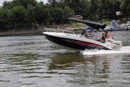 Моторный катер с тентом AQ540 : Боко-Которская бухта, Черногория