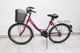 Женский велосипед VENERA с корзинкой, многоскоростной, 26'' : Бечичи, Черногория